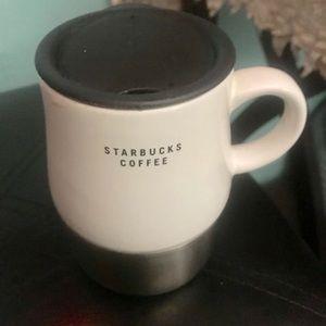 Starbucks Stainless Urban white and black 14oz
